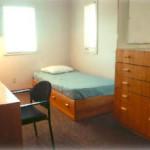 dorm suite bedroom
