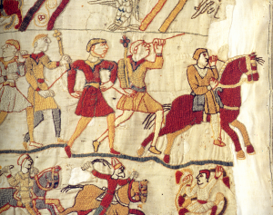 Fleeing_bayeux_tapestry