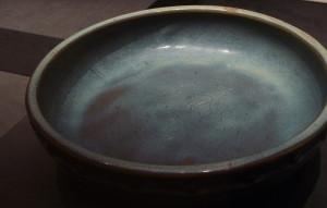 image of a bluish bowl