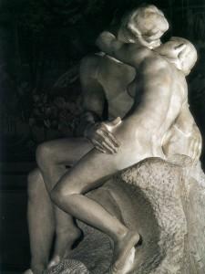 rodin the kiss