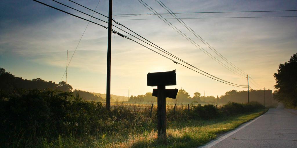 Mailbox Sunrise