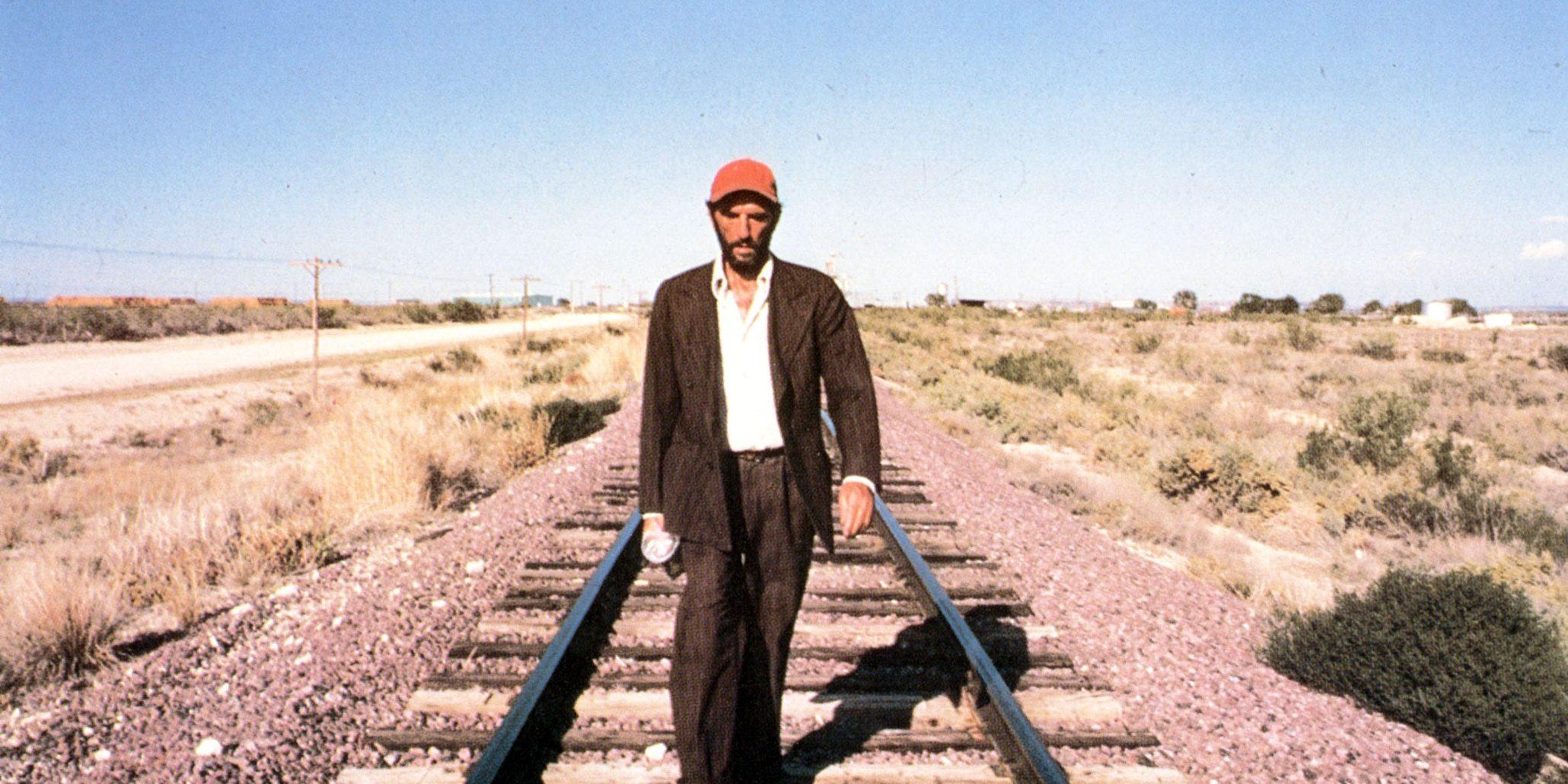 PARIS, TEXAS [Br/FRANCE/GERMANY/US 1984] HARRY DEAN STANTON  A ROAD MOVIES FILM