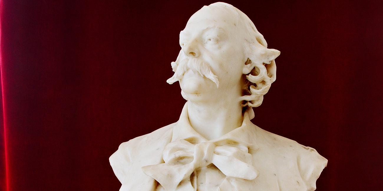 Buste de Gustave Flaubert