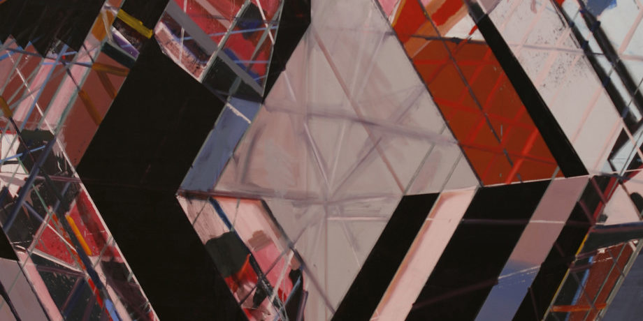 Plate 15. Jered Sprecher. Redux, 2006. Oil on canvas. 96 x 72 inches. Courtesy of the artist and Jeff Bailey Gallery.