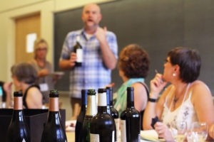 Glen Workshop Aubrey Allison wine class 2