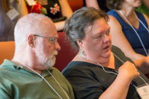 Glen Workshop Bob Denst Devon and man