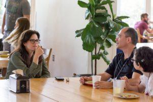 Glen Workshop Bob Denst cafeteria talking