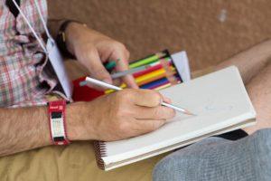 Glen Workshop Bob Denst drawing