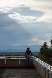 Glen Workshop Bob Denst the balcony