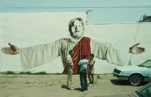 17 111th Street Jesus in progress 1984