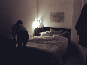 bed at night