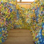 PLATE 14. Olga Lah. Array, 2011. Sponges, storage pod. Torrance, California. All photos courtesy of the artist.