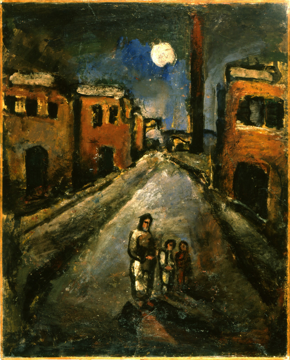 Georges Rouault, Christ in the Suburbs