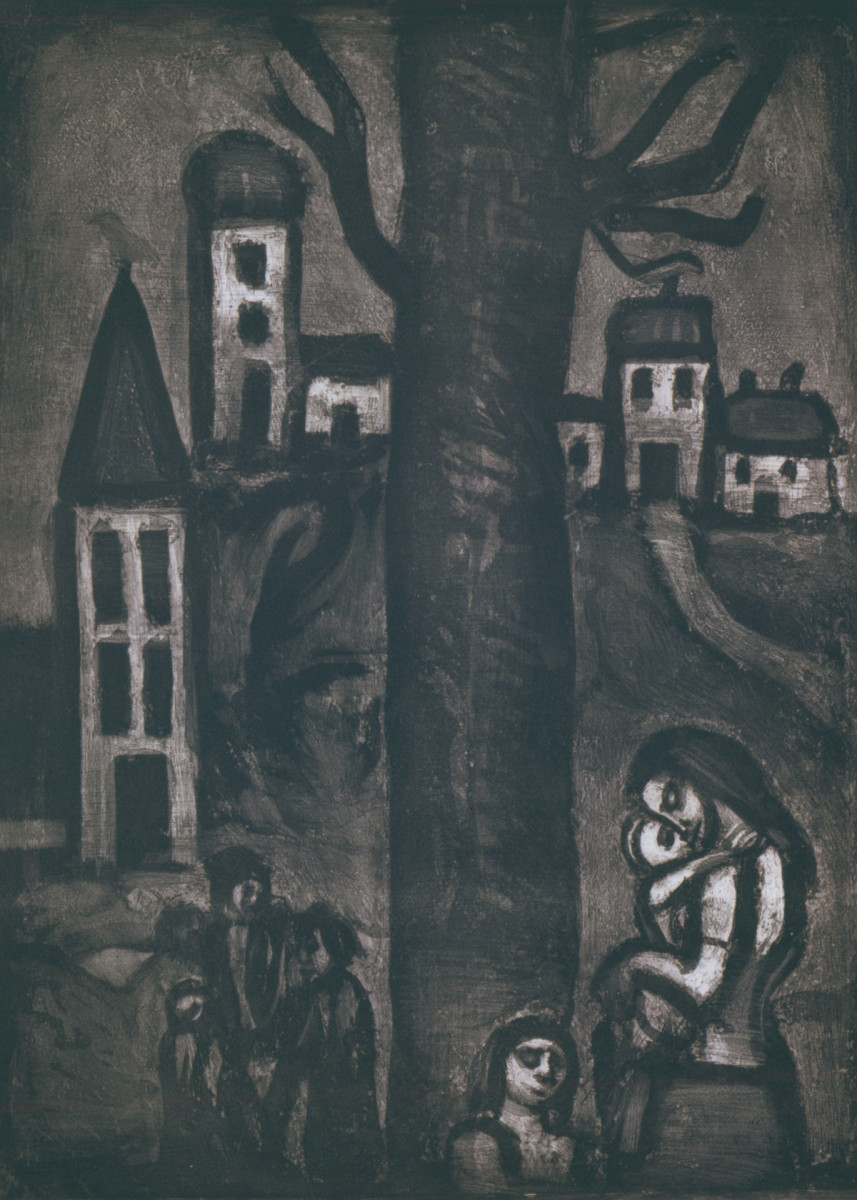 seeing through the darkness georges rouault u0027s vision of christ