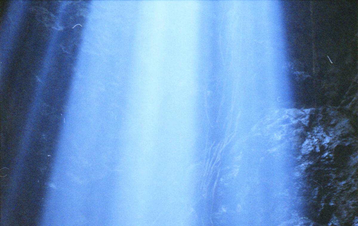 blue light streams - Image Journal