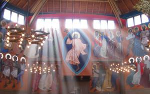 dancing icons church