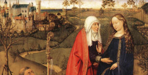 Daret Jacques Visitation painting.