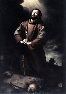 Bartolomé_Esteban_Murillo_-_St_Francis_of_Assisi_at_Prayer