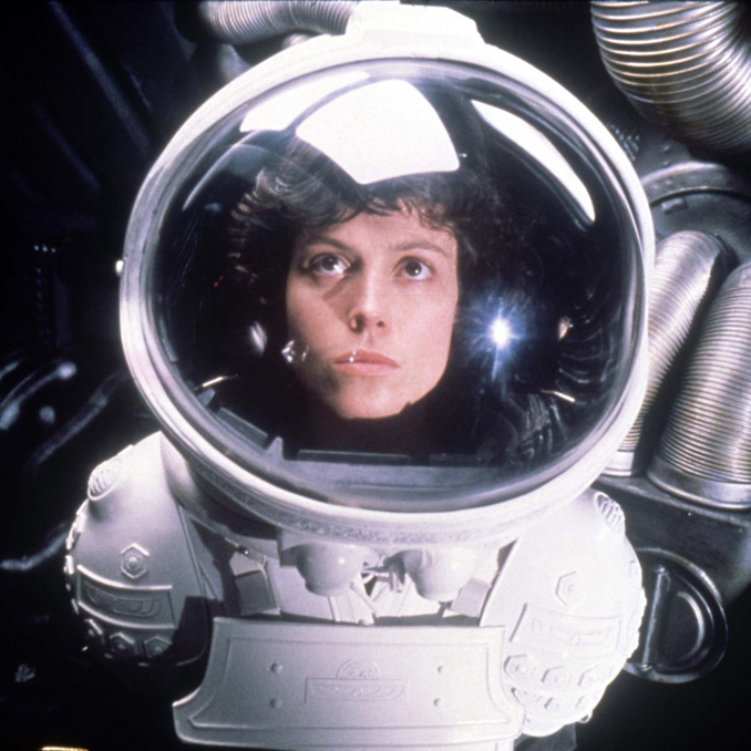 Alien (1979) Directed by Ridley Scott Shown: Sigourney Weaver