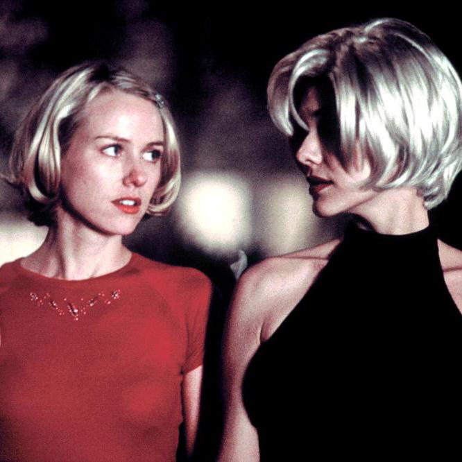 MULHOLLAND DRIVE, Naomi Watts, Laura Harring, 2001, (c) Universal