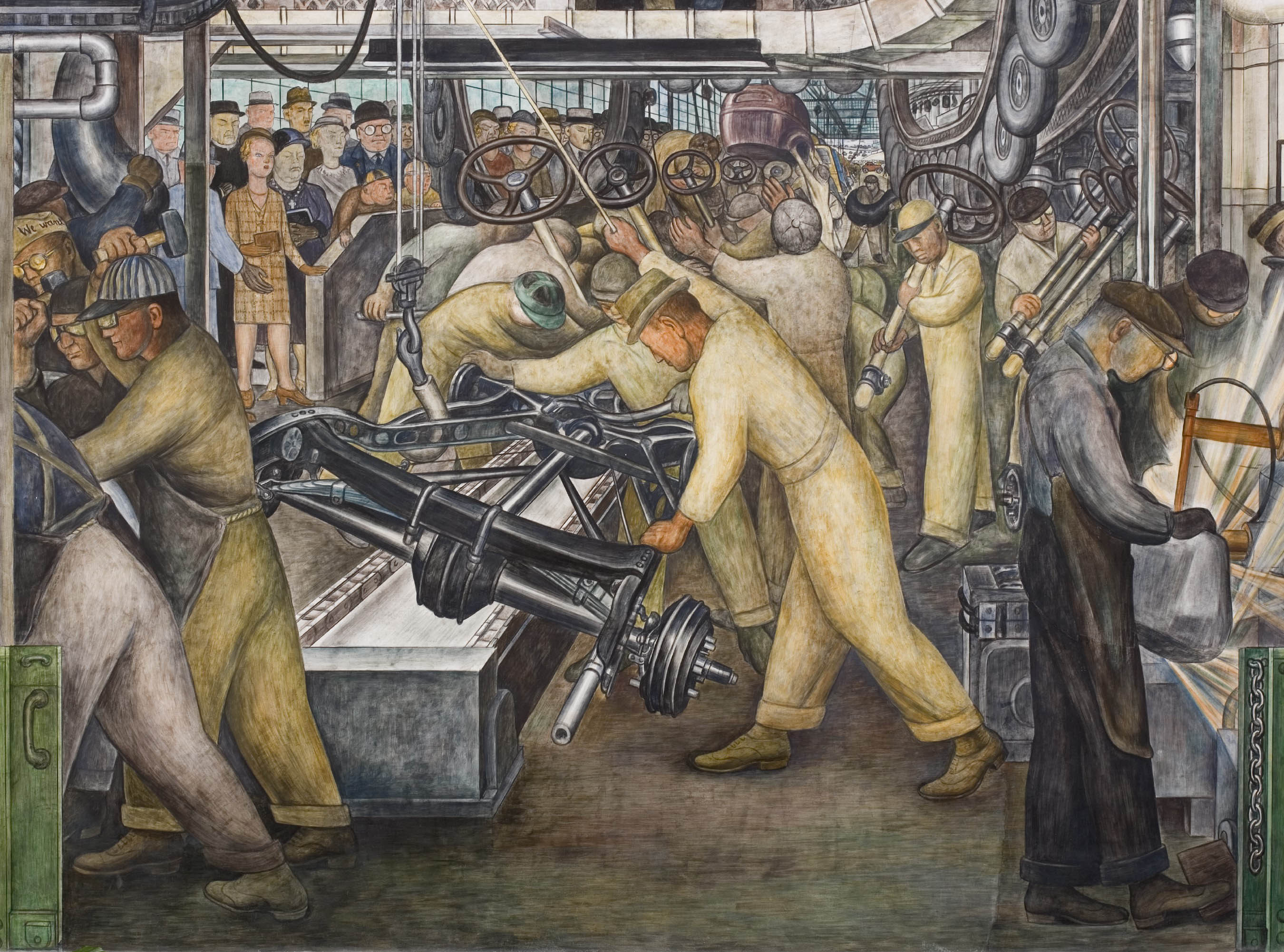 Diego Rivera's Detroit Industry - Image Journal