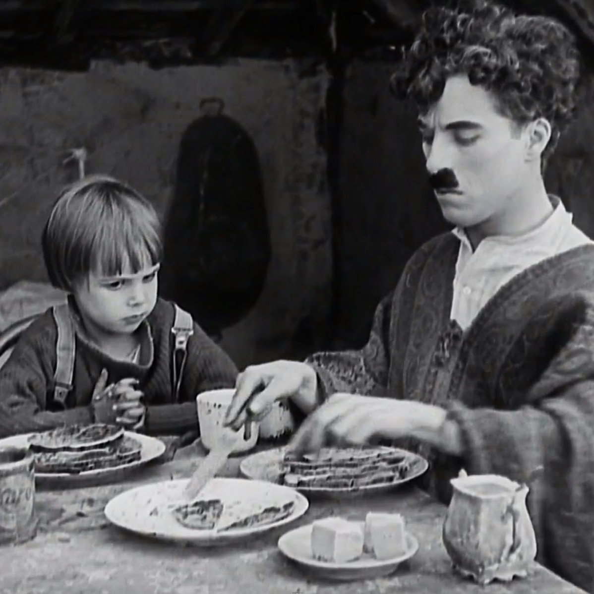 Image result for chaplin the kid pancakes