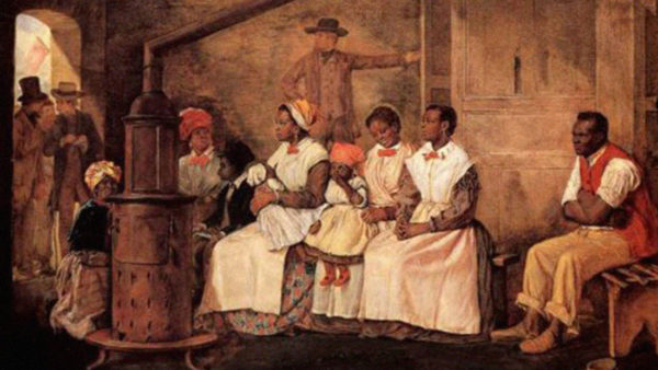 Slaves Waiting for Sale Richmond Virginia by Eyre CrowePublic Domain