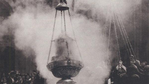 church smoke incense