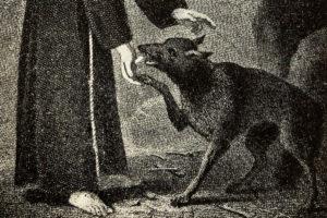 wolf-of-gubbio-francis-tile