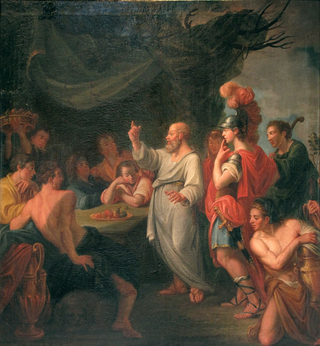 socrates views on goodness and beauty A summary of symposium in 's plato socrates arrives late, having been lost in thought on a we first learn about beauty by seeing and desiring beautiful.
