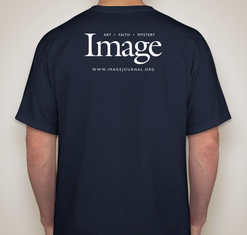 Beauty will save the world t shirt navy image journal for Design lab create your own shirt