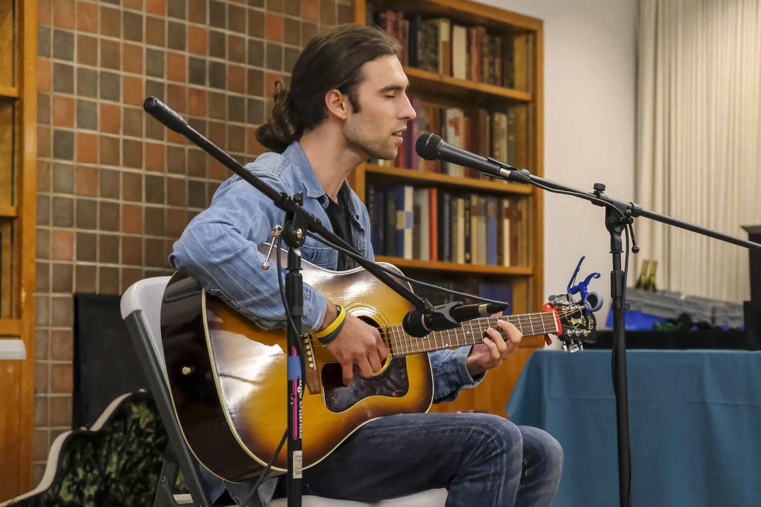 Open mic Luke