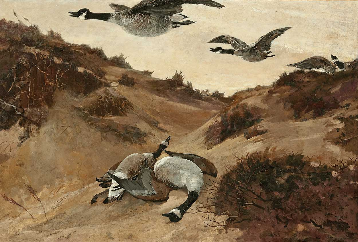 Wild Geese in Flight by Winslow Homer, Creative Commons