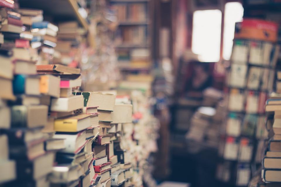 stacks and stacks and stacks of books
