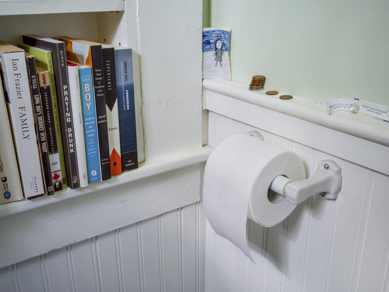 Week 2: <em> Bathroom</em>, Justin Kimball, April 18, 2020