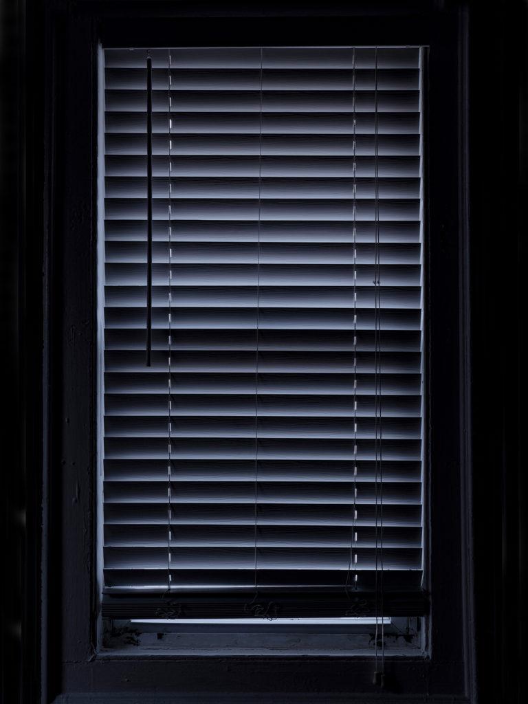"""Week 1: <em>Bedroom</em>, """"Every window in my house window 7 (bedroom window 2, 6am),"""" Hannah Smith Allen, April 12, 2020"""