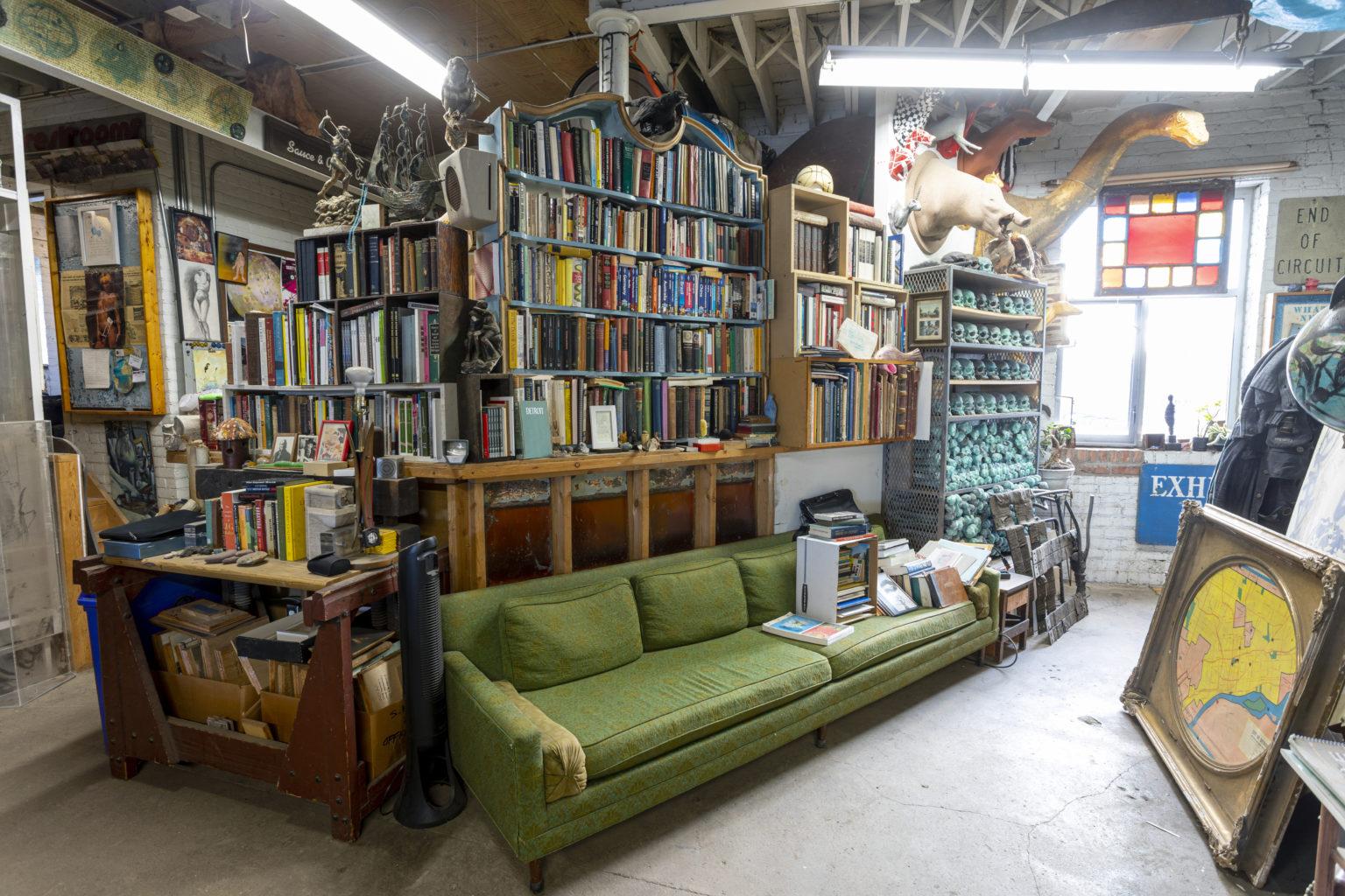 """Week 2: <em>Living Room</em>, """"Library,"""" Scott Hocking, April 18, 2020"""