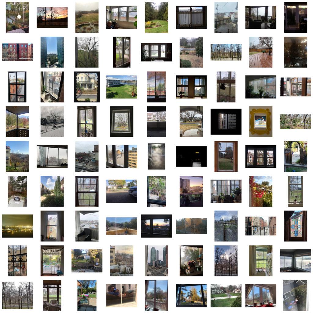 """Week 3: <em>Virtual</em>, """"Views From 81 Friends' Rooms,"""" Todd Forsgren, April 27, 2020"""