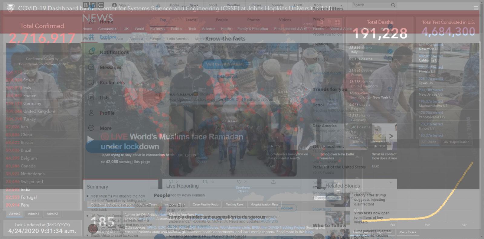 """Week 3: <em>Online</em>, """"Virtual Record,"""" Michael Takeo Magruder, April 24, 2020"""