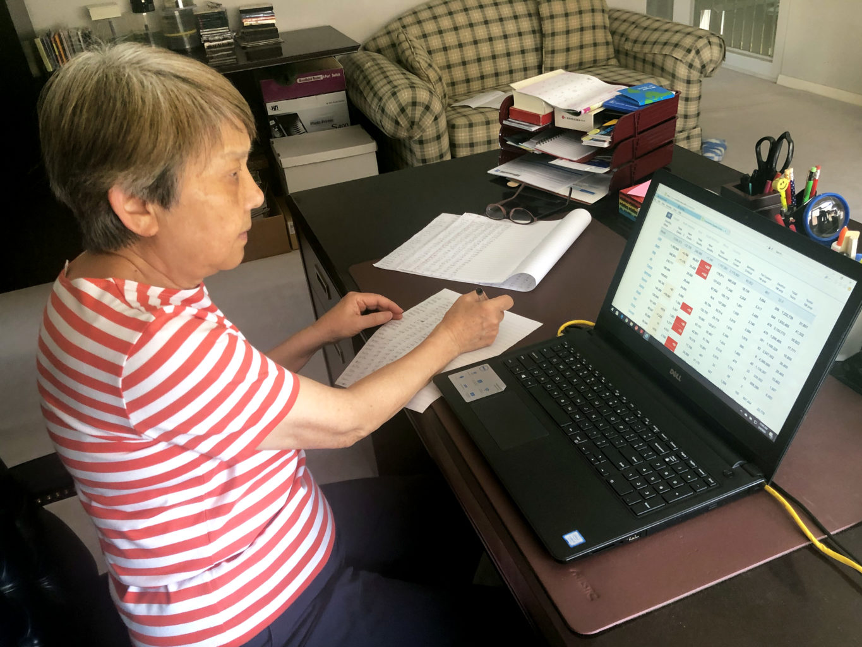 """Week 4: <em>Online</em>, """"Mother''s Coronavirus Accounting Part 1"""", Joyce Yu-Jean Lee, May 3, 2020"""