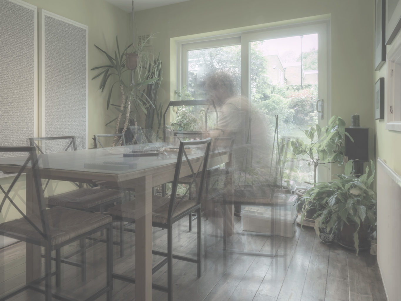"Week 5: <em>Kitchen</em>, Dining Room, ""Physical Record,"" Michael Takeo Magruder, May 8, 2020"