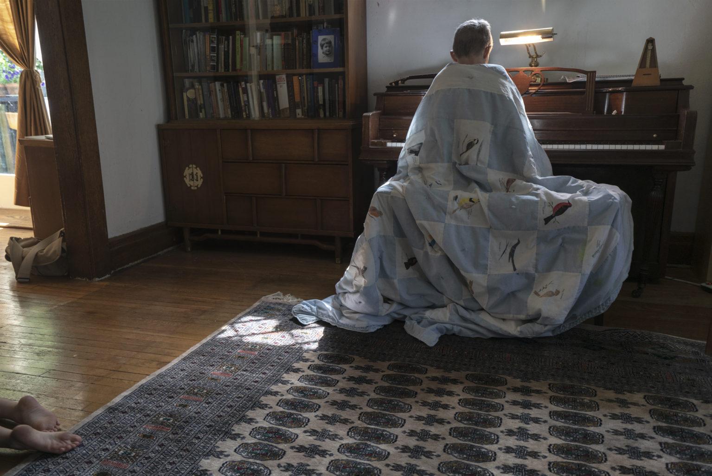 "Week 10: <em>Living Room</em>, ""Buffalo New York,"" Yola Monakhov Stockton, June 15, 2020"