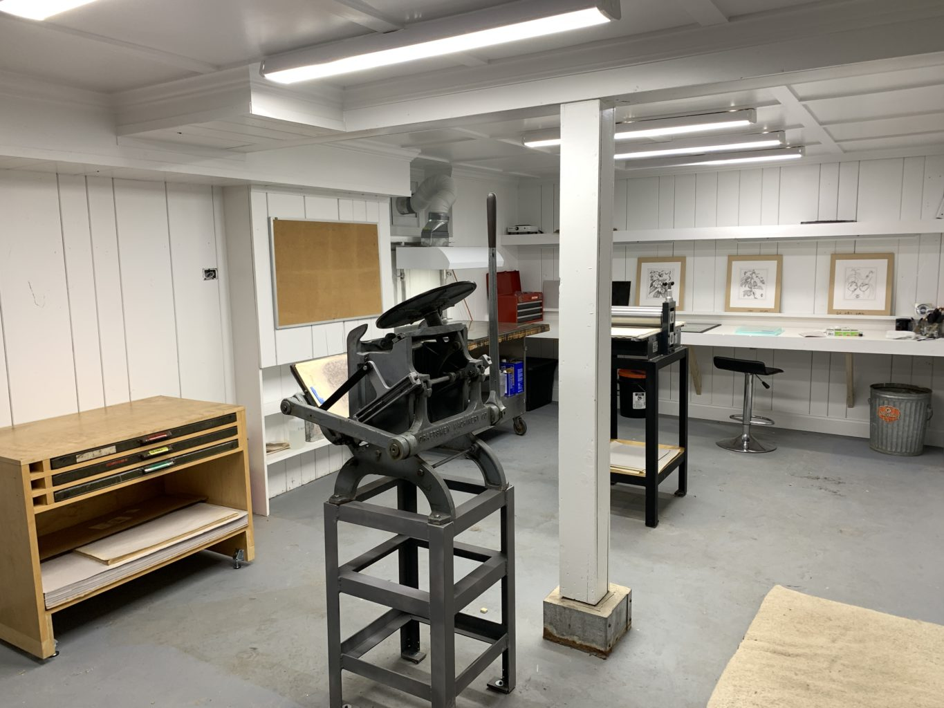 "Week 9: <em>Studio</em>, ""New Print Studio,"" Sam van Aken, June 4, 2020"