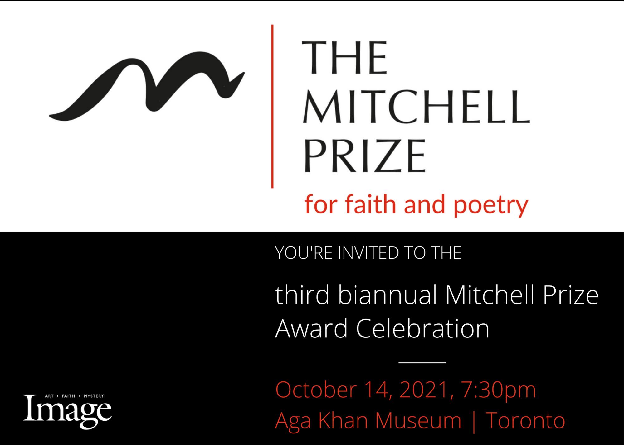 Mitchell Prize Invite