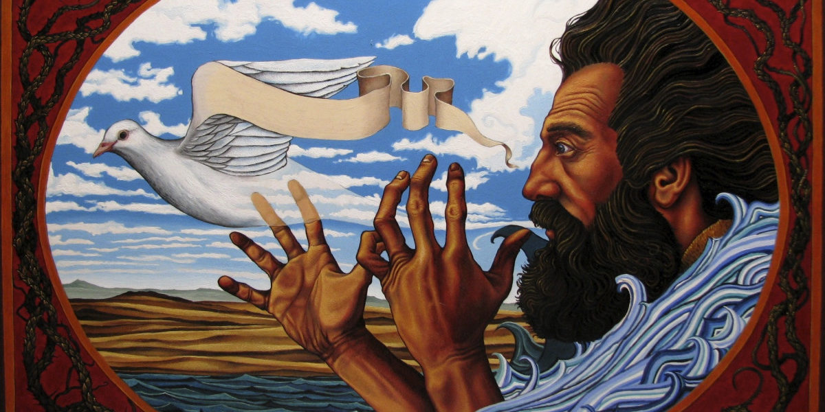 oil on panel by Jack Baumgartner