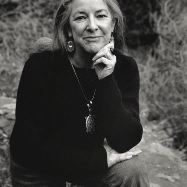 Portrait of Native American writer Linda Hogan. --- Image by © Christopher Felver/Corbis