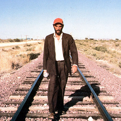 paris texas road film